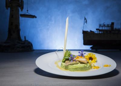 Restaurant Fisch Risotto